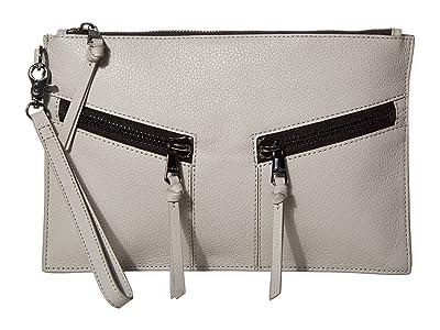 Botkier Trigger Clutch (Silver Grey) Clutch Handbags