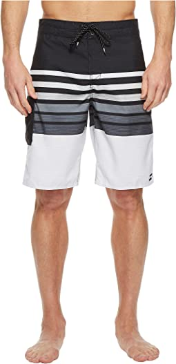 All Day OG Stripe Boardshorts