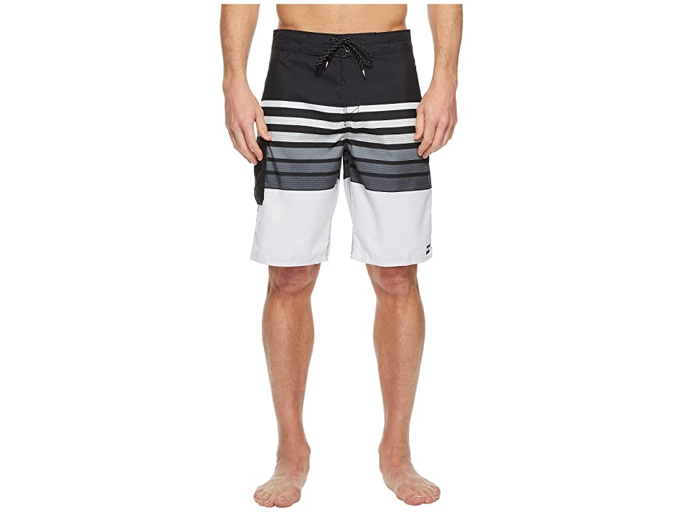 Billabong All Day OG Stripe Boardshorts (Black) Men