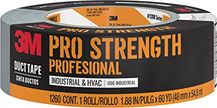 3M Pro Strength Duct Tape, 1260-A, 1.88 Inches by 60 Yards