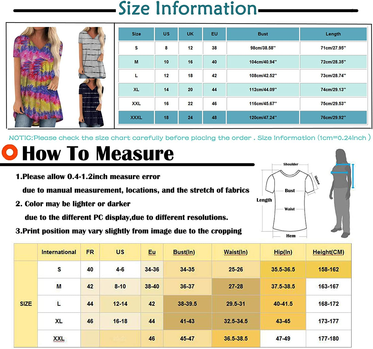 Summer Tops for Women,Womens Round Neck T Shirts Short Sleeve Loose Strappy Cold Shoulder Tunic Casual Basic Tees Tops
