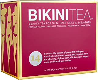 Bikini Tea - Beauty Tea For Skin, Hair, Nails & Eyelashes