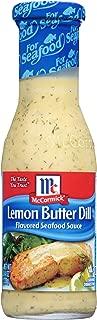 McCormick Golden Dipt Lemon Butter Dill Sauce, 8.4 oz (Pack of 6)