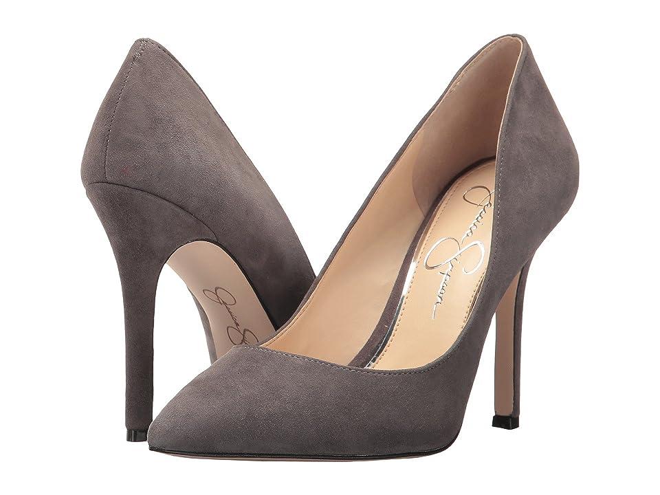 Jessica Simpson Blayke (Smoke Lux Kid Suede) High Heels