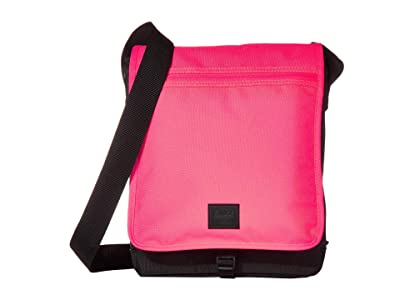Herschel Supply Co. Lane (Neon Pink/Black) Messenger Bags
