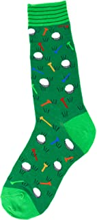 Foot Traffic, Men's Sports-Themed Socks, Fits Men's Shoe Sizes 7-12