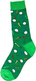 Men's Sports-Themed Socks, Fits Men's Shoe Sizes 7-12