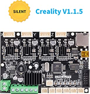 Upgraded Creality 3D Printer V1.1.5 Ender 3 Silent Mainboard with TMC2208 Driver, Customized Super Quiet Mute Motherboard(Not Standard Matching)