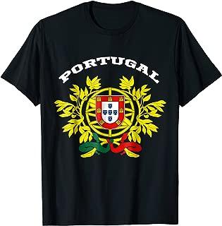 Portugal T-shirt Coat of arms Tee Flag souvenir Lisbon