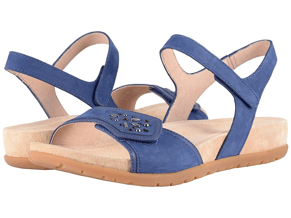 04b45b15855 Dansko Blythe (Blue Milled Nubuck) Women