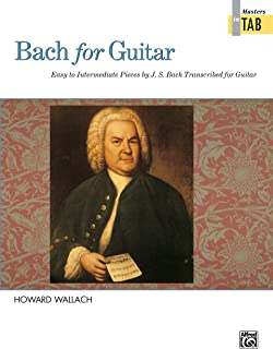 Bach for Guitar -- Masters in TAB