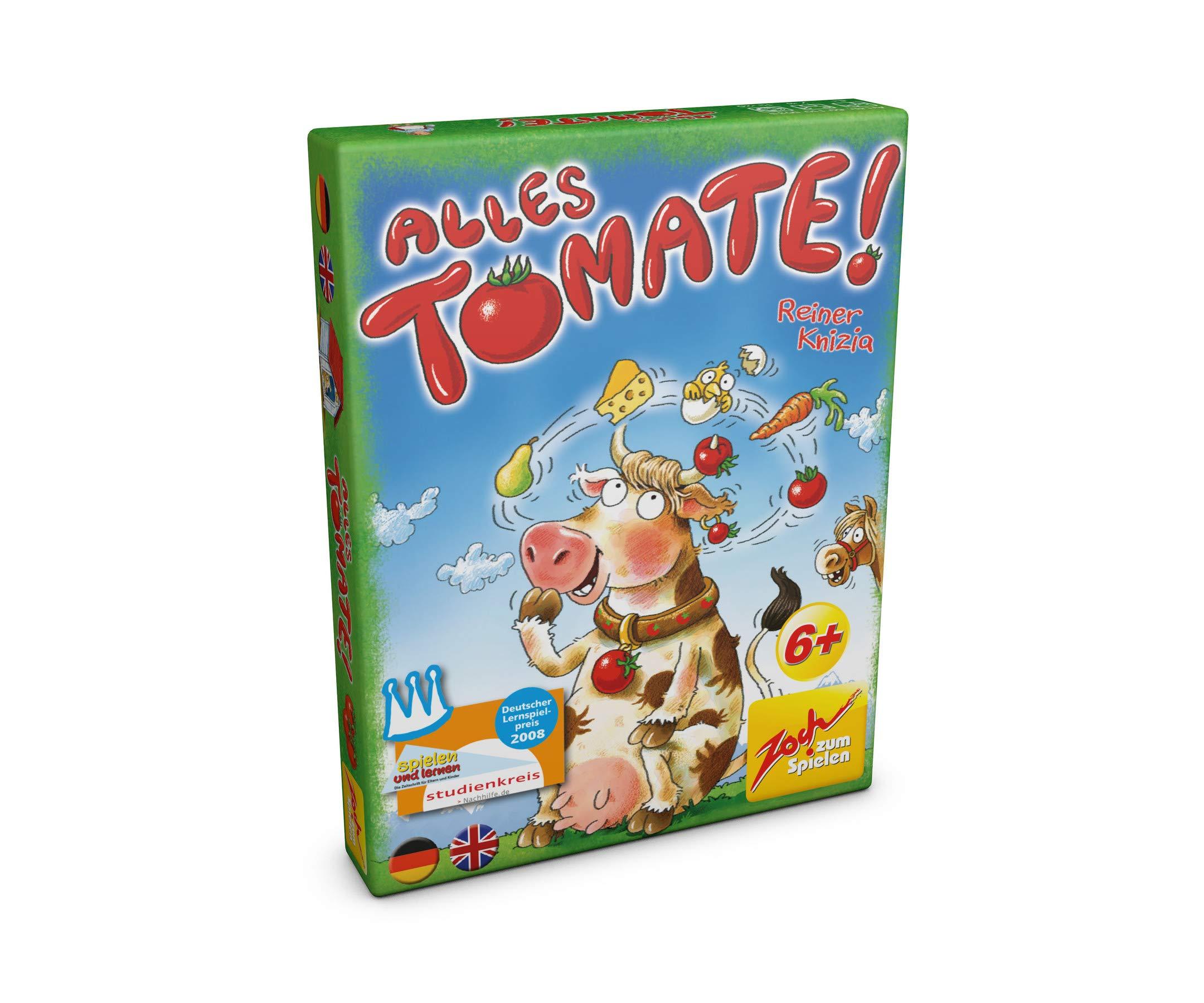 Noris Zoch 601105035 Alles Tomate - Juego de Cartas y Memoria: Amazon.es: Juguetes y juegos