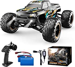 DEERC RC Cars High Speed Remote Control Car for Boys 16889 1:16 Scale 36+KM/H Fast 4WD RC Trucks with LED Lights,2.4GHz Al...