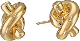 Sailor's Knot Stud Earrings
