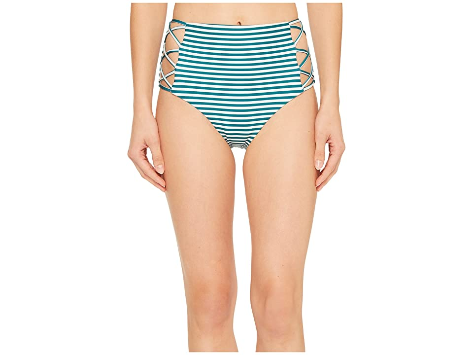 Isabella Rose Avalon High-Waist Bikini Bottom (Multi) Women