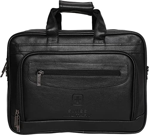 15 6 inch 14 Ltrs Black Softsided Briefcase PLB1