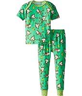 BedHead Kids - Short Sleeve Baby Tee & Pant Set (Infant)