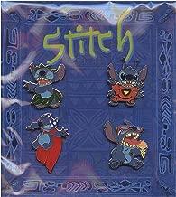 Disney Stitch Alien Booster Set. Hula Stitch, 626 Stitch, Ice Cream Stitch, Super Hero with Cape Stitch