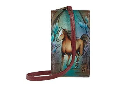 Anuschka Handbags Smartphone Crossbody 1154 (Free Spirit) Handbags