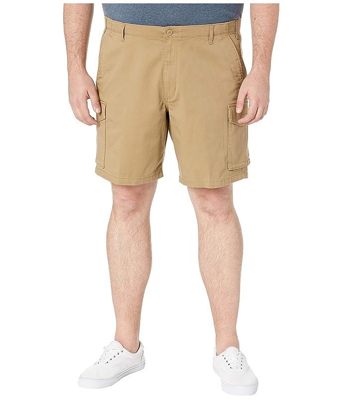 Dockers Big Tall Cargo Shorts (New British Khaki) Men