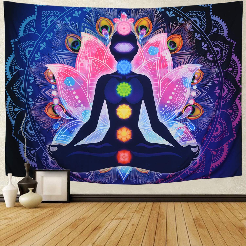 Maccyafst Seven Chakra Tapestry Meditation Yoga Max 54% OFF Wall shopping Co