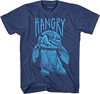 Disney Stitch Hangry Men's Adult Graphic Tee T-Shirt