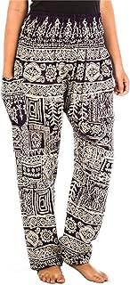 Harem Hippie Pants for Women's Yoga Floral Boho Genie...