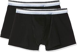 Multicolore Dim Fashion Anatomic Slip X2 Sin Costuras Combinaison Medium Taille Fabricant: 4 Homme Azul Orage//Negro 6QU Lot de 2