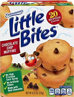 Entenmann's Little Bites Chocolate Chip Muffins, 20 Count