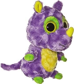 """Aurora Plush 8"""" YooHoo Japan Rhinoceros"""