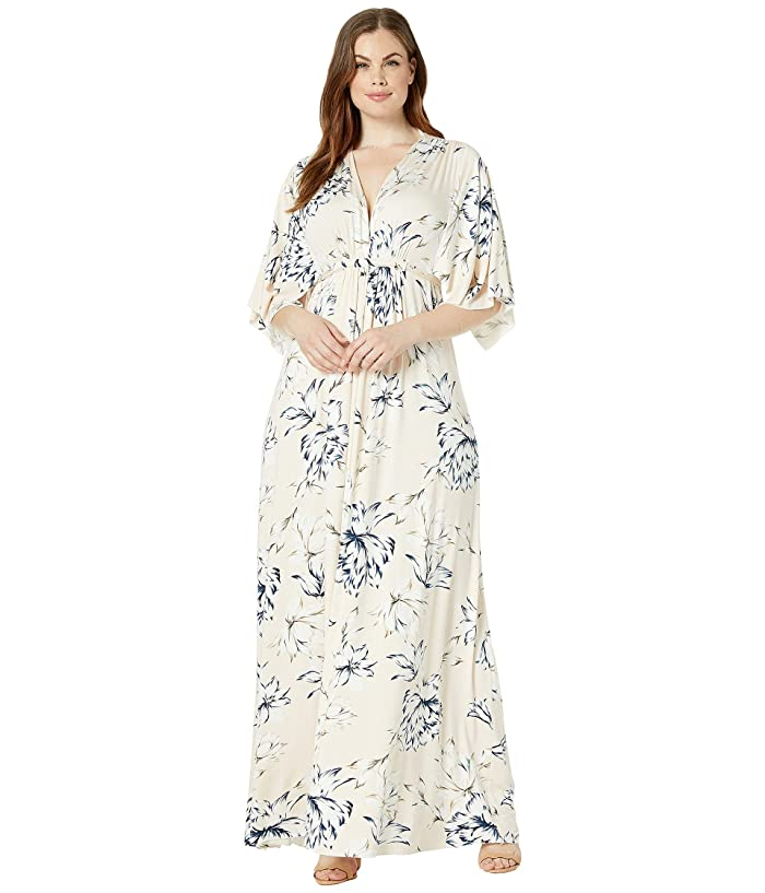 Rachel Pally Plus Size Long Caftan Dress (Fleur) Women's Dress
