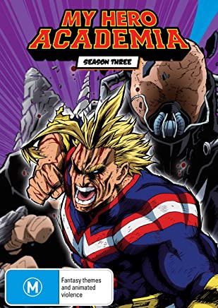 My Hero Academia - Season 3 Part 1 Dvd / Blu-ray Combo (limited Edition)