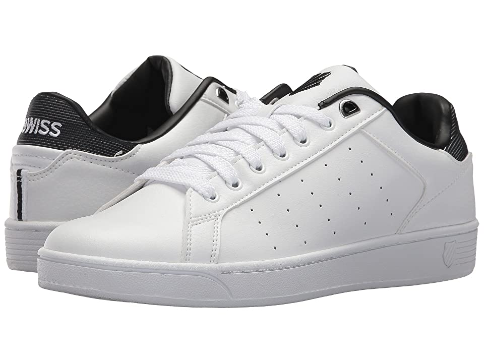 K-Swiss Clean Court CMF (White/Black) Men