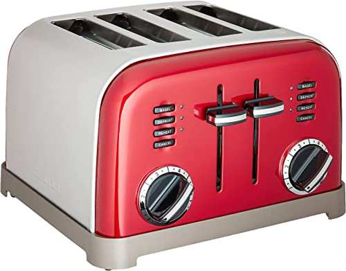 lowest Cuisinart CPT-180MRP1 wholesale CPT-180MR Classic 4-Slice Toaster, wholesale Metallic Red outlet online sale