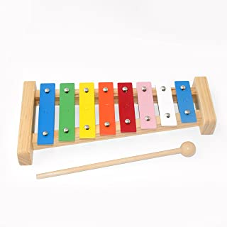 CB Sky 8-Note Metallophone / Xylophone / Kids' Percussion Instrument / Kids Musical Toys/Birthday Gift for Kids