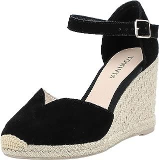 Best black ankle strap sandal heels Reviews