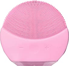 Ozoy Cleansing Face Massager Anti-Aging Exfoliate Makeup Tool for Polish Scrub Great Acids Peels Reduce Acne Portable Skin Cleaner Personal Body Wand Vibration modes & Water Resistant (SMALL)