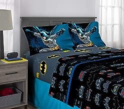 Franco Kids Bedding Super Soft Sheet Set, 4 Piece Full Size, Batman