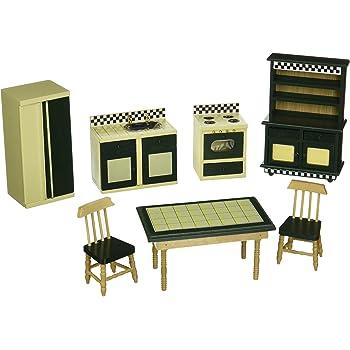 Melissa & Doug Doll-House Furniture- Kitchen Set