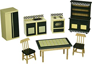 Melissa & Doug Doll-House Furniture- Kitchen Set