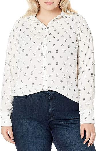 ملابس نسائية سيتي شيك مقاس كبير قميص سويت كات