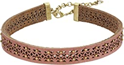 Lucky Brand Leather Choker Necklace