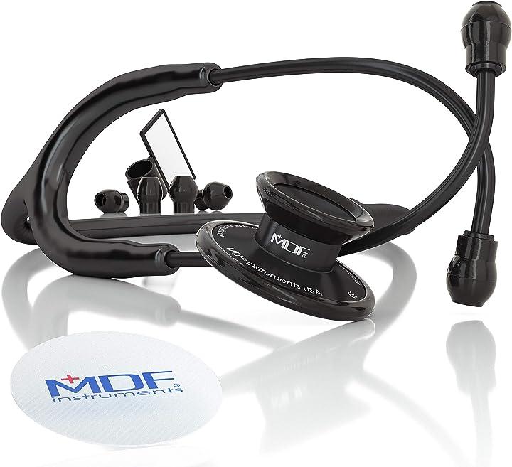 Stetoscopio a due testine leggero deluxe mdf acoustica mdf instruments stetoscopio prezzo economico MDF747XPBO