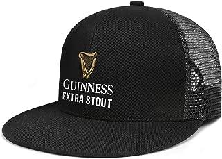 Guinness-Extra-Stout-White- Woman Man Adjustable Flat Bill Baseball Caps Summer Hats Trucker Hats