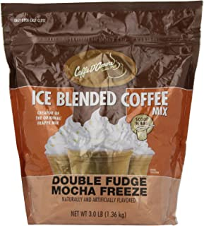 DaVinci Gourmet Iced Coffee Double Fudge Mocha Blended Drink Mix, 3 Pounds