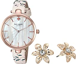 Holland Watch and Earring Set - KSW1422B