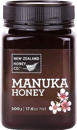 New Zealand Honey Co. Raw Manuka Honey, MG0 80+, 17.6oz / 500g