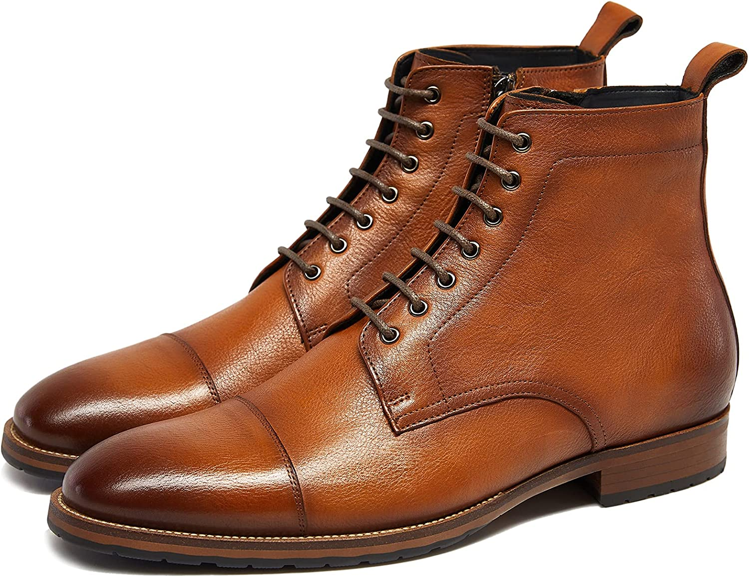 lowest price Mens motorcycle boots genuine leather Limited price combat casual d Dress work