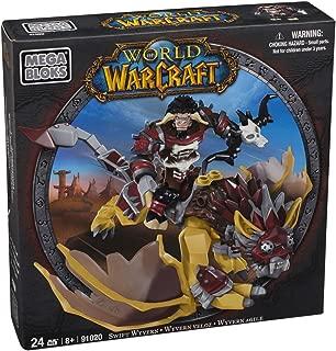 Mega Bloks World of Warcraft Swift Wyvern and Scarbuck (Horde Tauren Hunter)