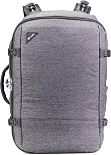 PacSafe Vibe 40l Anti-theft Carry-on Backpack - Granite Melange Weekender Bag